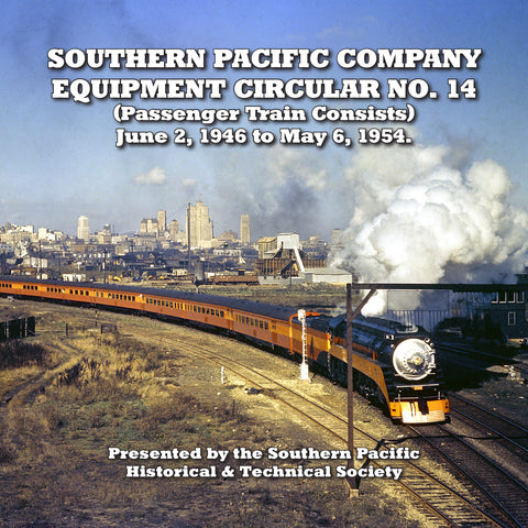 Southern Pacific Company Equipment Circular No. 14 (CD)
