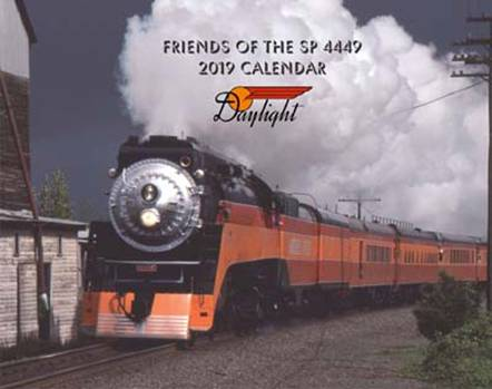 Friends of the SP 4449 2019 Calendar