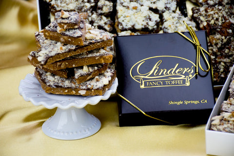 Linders Semi Sweet Fancy Toffee Box