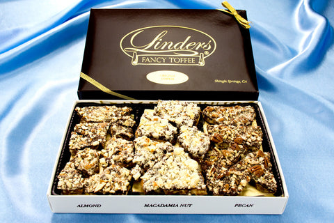 Gifts - Linders Dark Chocolate Fancy Toffee Sampler
