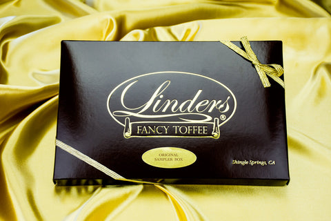 Gifts - Linders Fancy Toffee Original Sampler Box