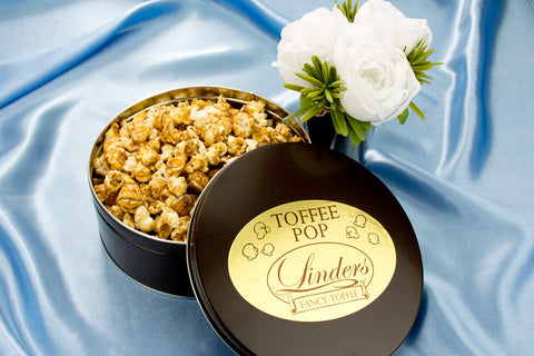 Gifts - Linders Almond Fancy Toffee Pop Tin