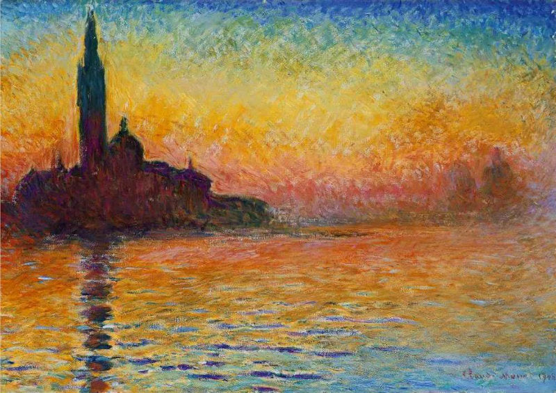 Sunset in Venice  by Claude Monet - Tuesday, May 25 @ The Exhibit, Balham
