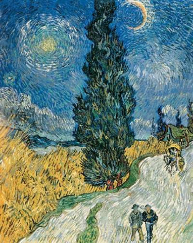 Road with Cypress and Star by Vincent Van Gogh - Thursday, November 19 @  The Exhibit, Balham-POSTPONED