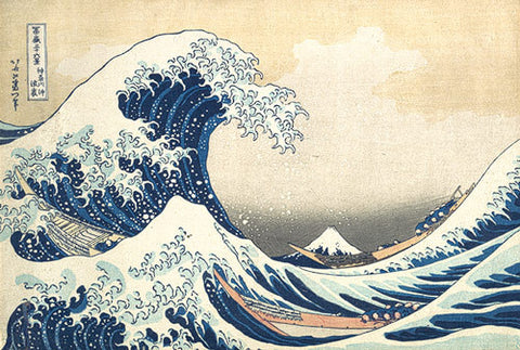The Great Wave off Kanagawa by Katsushika Hokusai - Wednesday, November 18 @ The Trafalgar Arms-POSTPONED