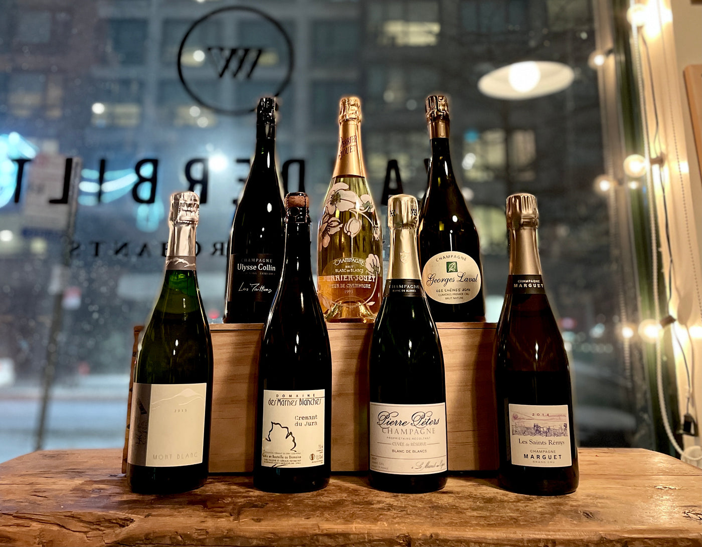 Traditional Method Sparkling Wines