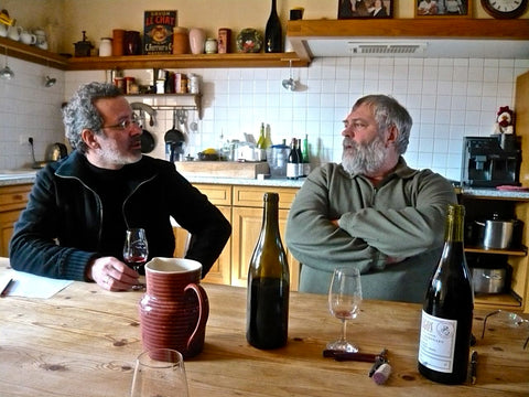 Savio and Chanudet in Beaujolais
