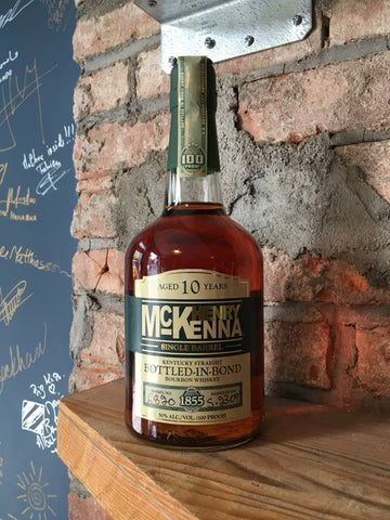 Henry McKenna Bottled in Bond Single Barrel 10yr Bourbon 100 proof [NY ONLY]
