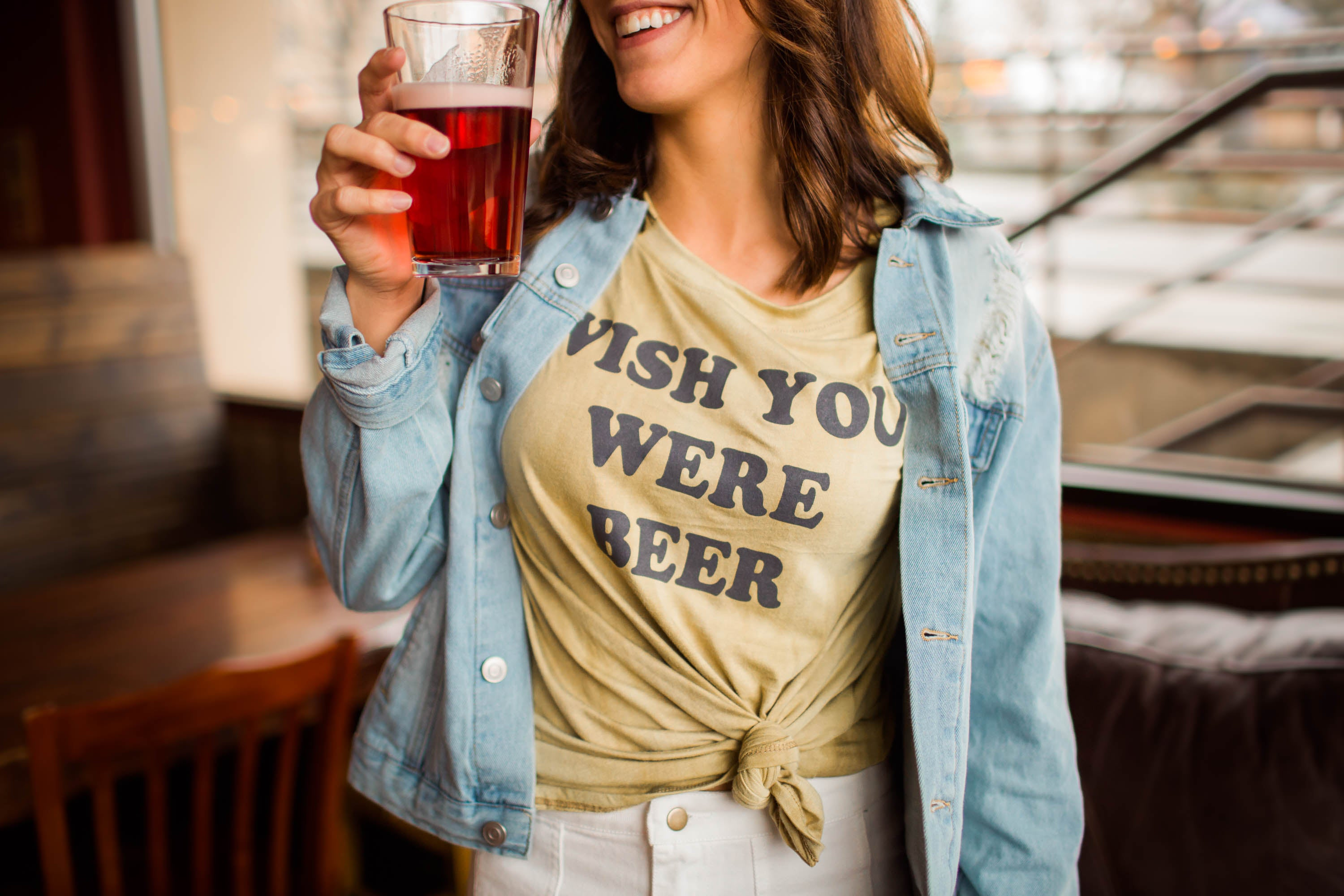 Tee - Wish You Were Beer