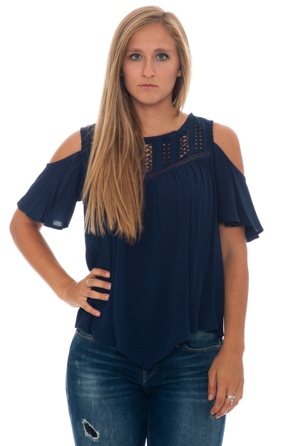 Blouse - Off Shoulder BOHO - 1