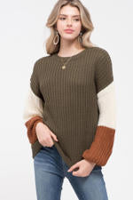 Sweater - Color Block