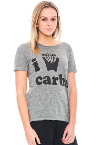 Tee - I Love Carbs Top by Chaser