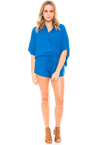 Romper - Caspian by BB Dakota Romper with a Drop Waist