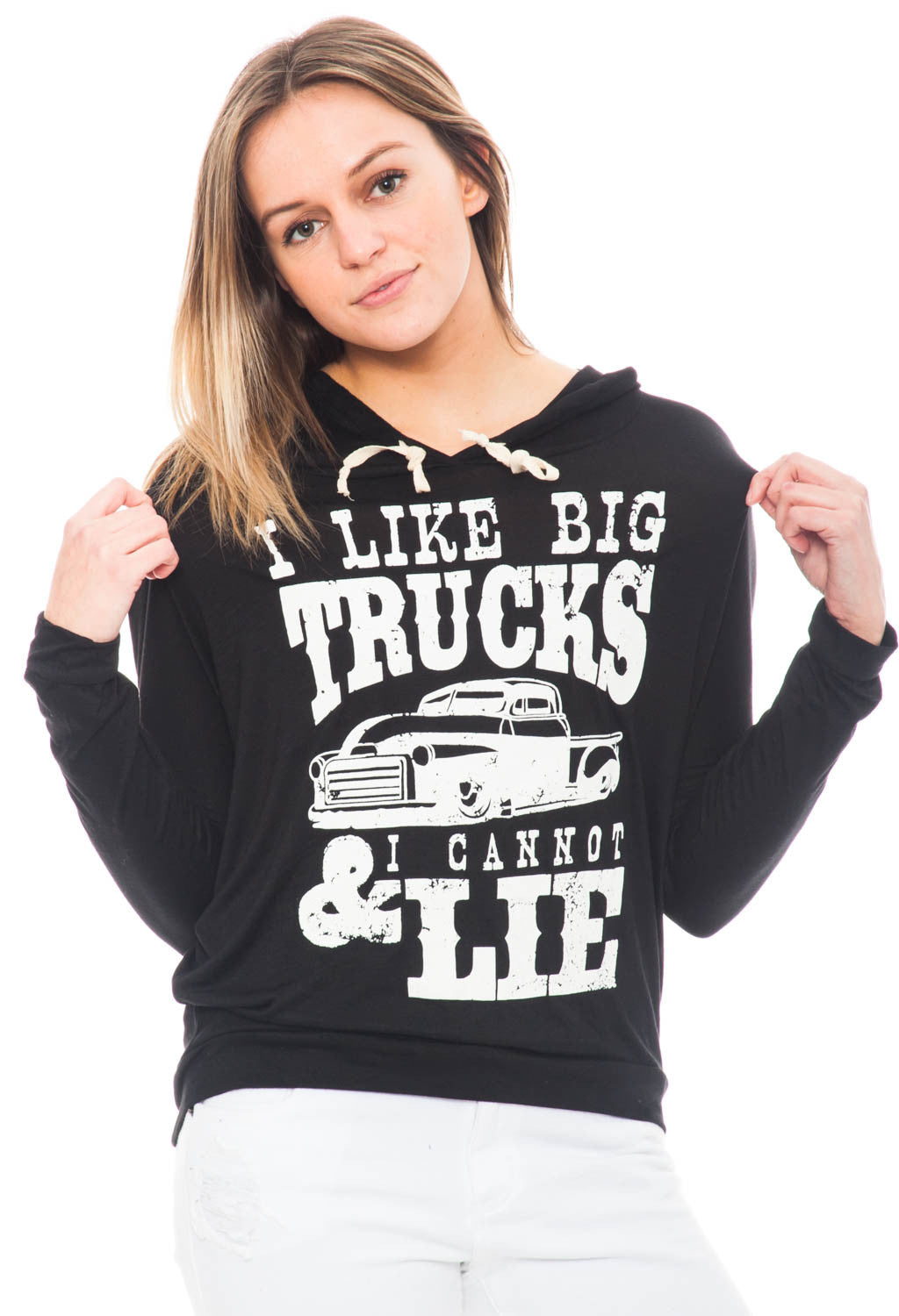 Sweatshirt - I Like Big Trucks & I Cannot Lie Hoodie