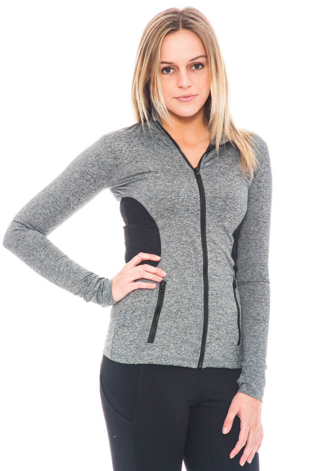 Jacket - Sports Zip-Up Activewear Top by Motion by Coalition