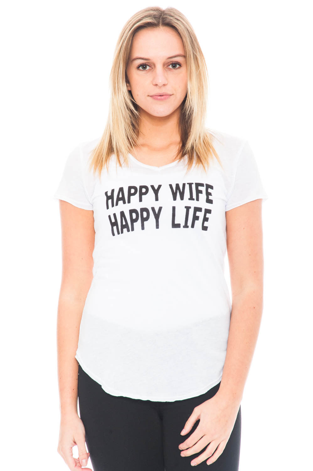 Shirt - Happy Wife Happy Life Top