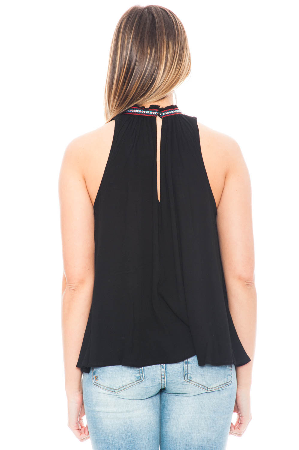 Tank - Nettle by BB Dakota Mock Neck Top