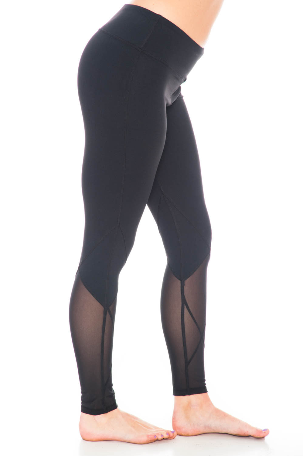 Legging - Mesh Yoga Pant by Motion by Coalition
