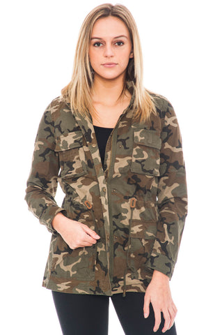 Jacket - Army Utility with Drawstring Waist