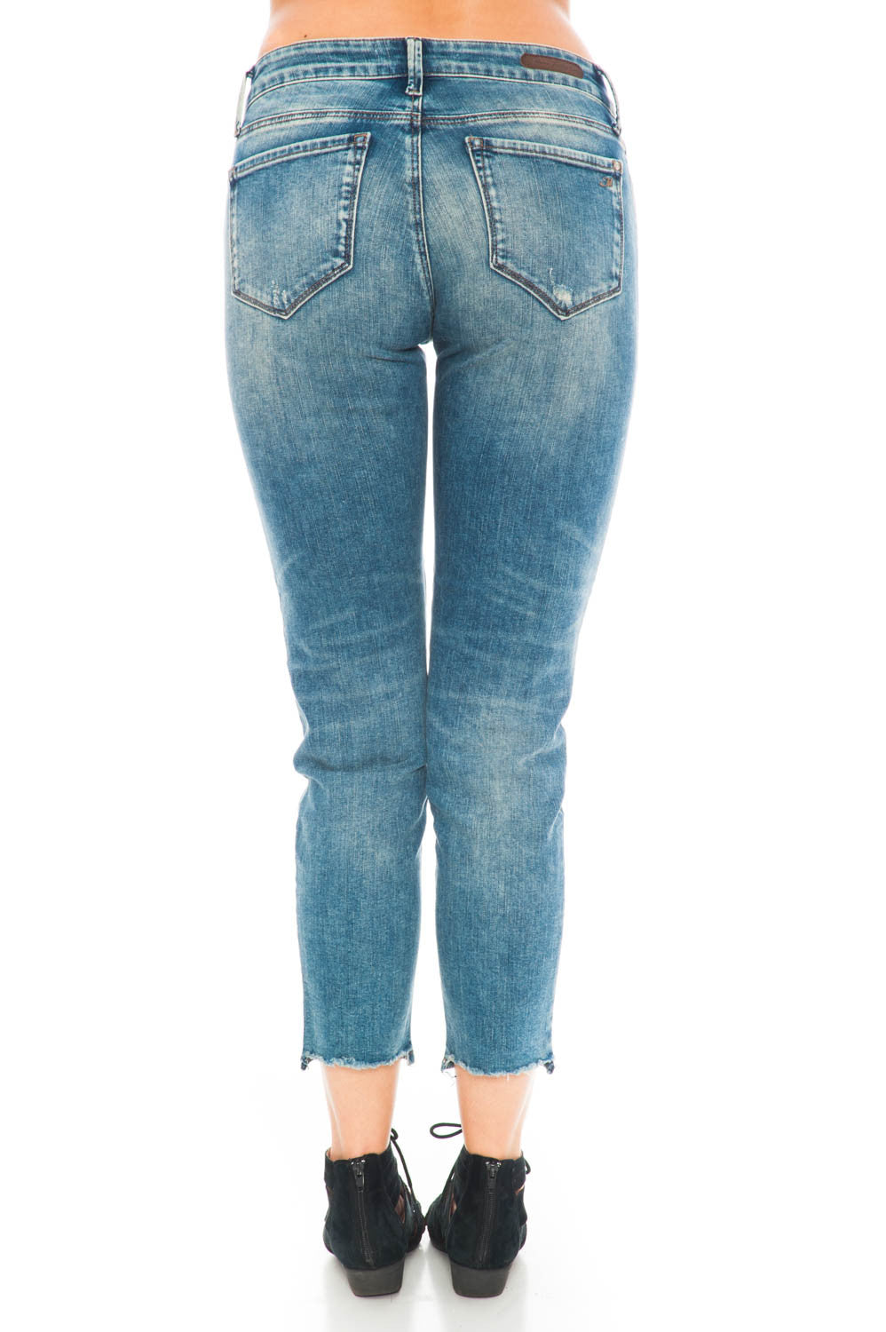 Jeans - Emma Mid Earthy Vintage Cropped Mid-Rise By Mavi