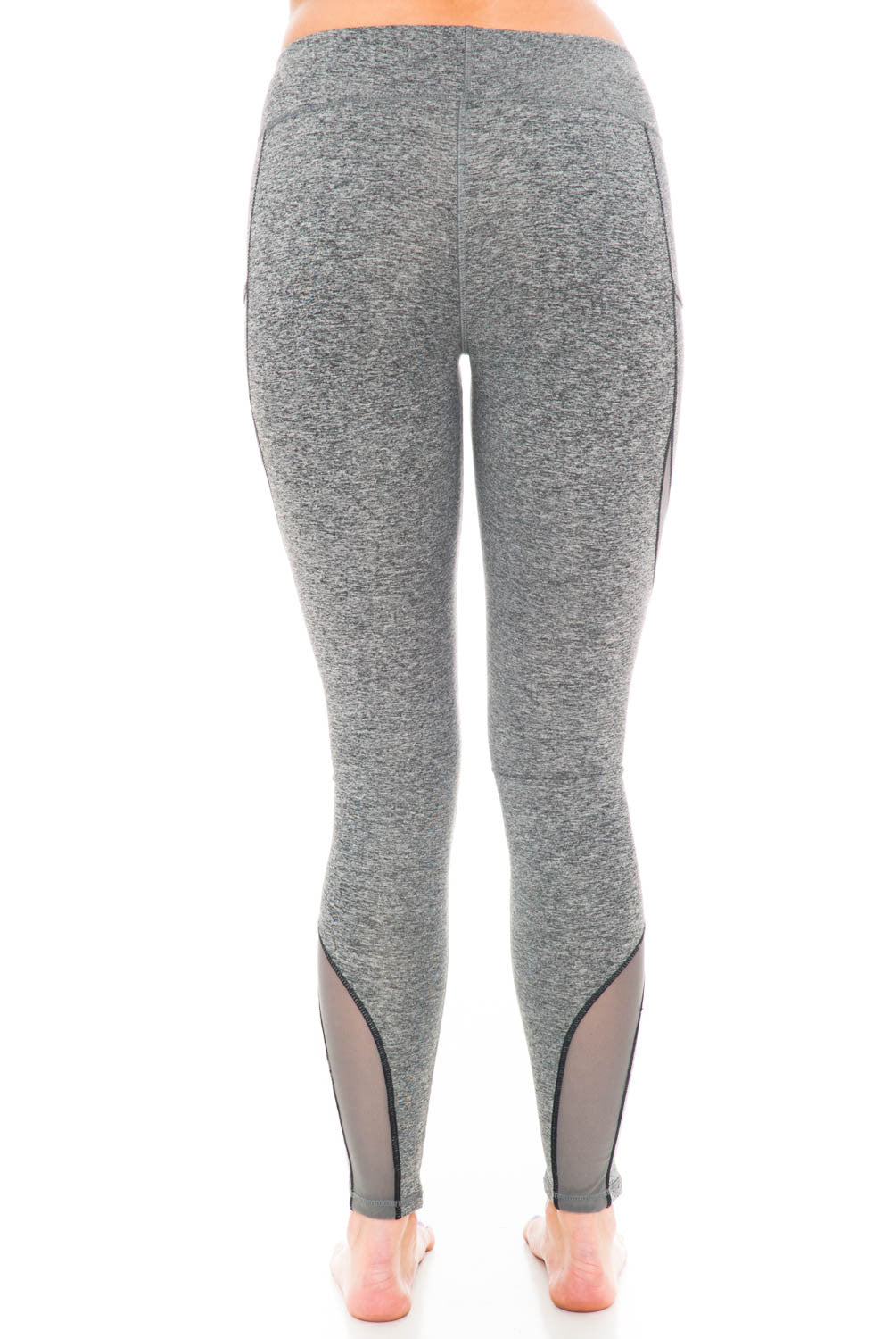 Legging - Mesh Detail Yoga Pant by Motion by Coalition