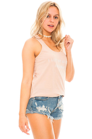 Tank - I Left My Heart In Hawaii Top by Amues Society