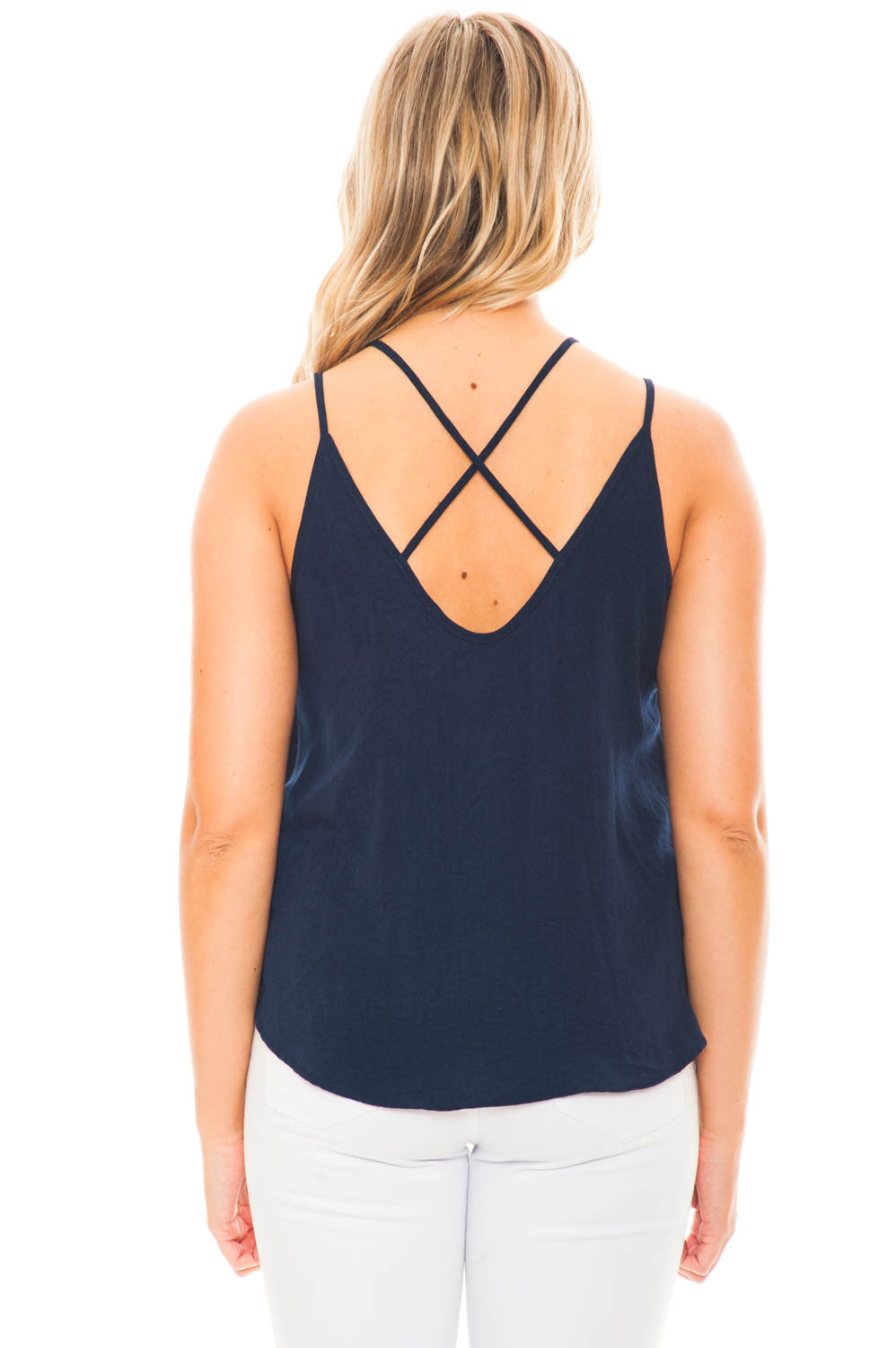 Tank - Criss Cross Front Tank by Lush