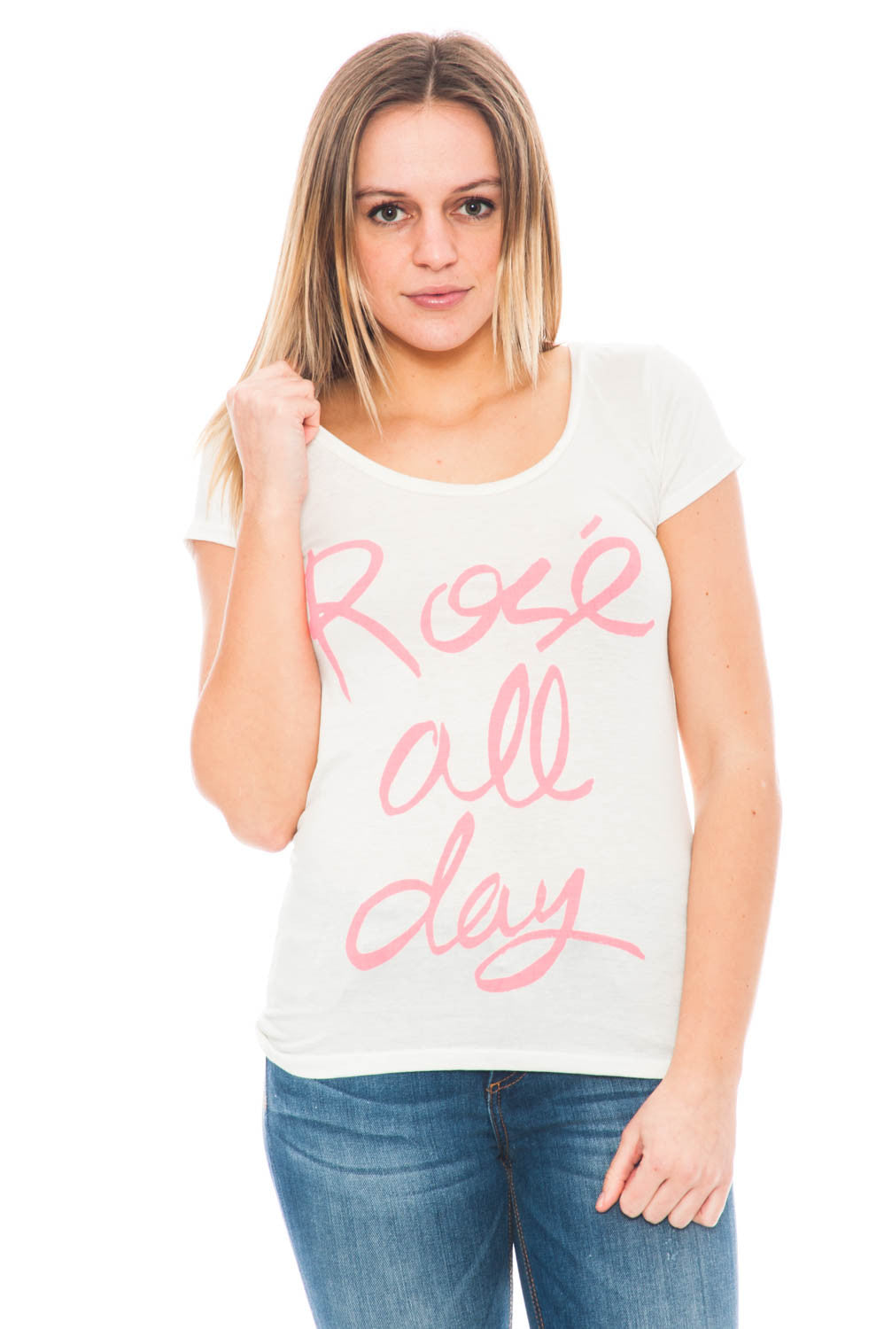 Shirt - Rose All Day Tee