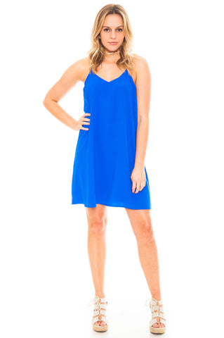 Dress - Oh So Perfect Chiffon V-Neck Dress