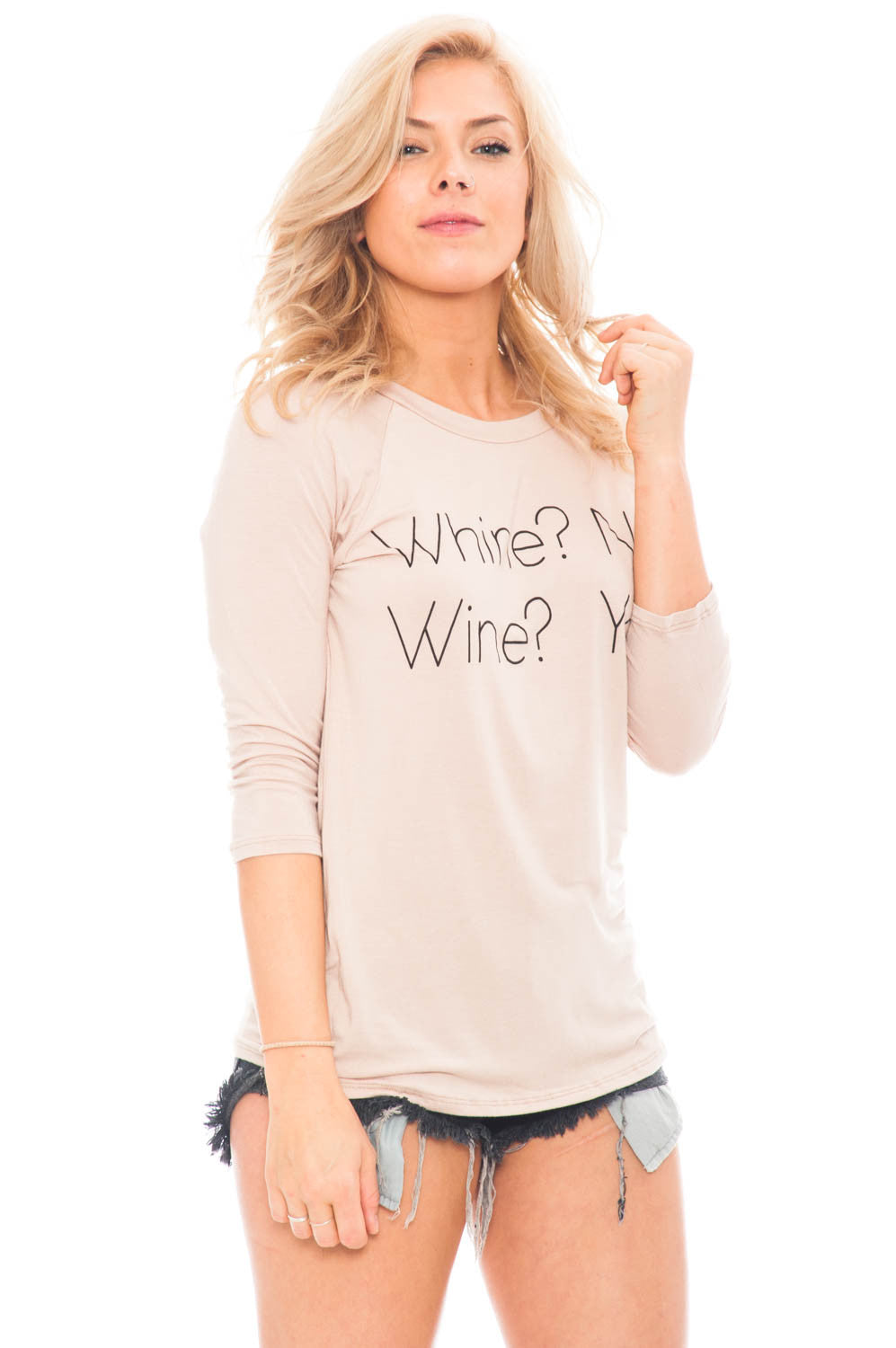 Tee - Whine? No. Wine? Yes.