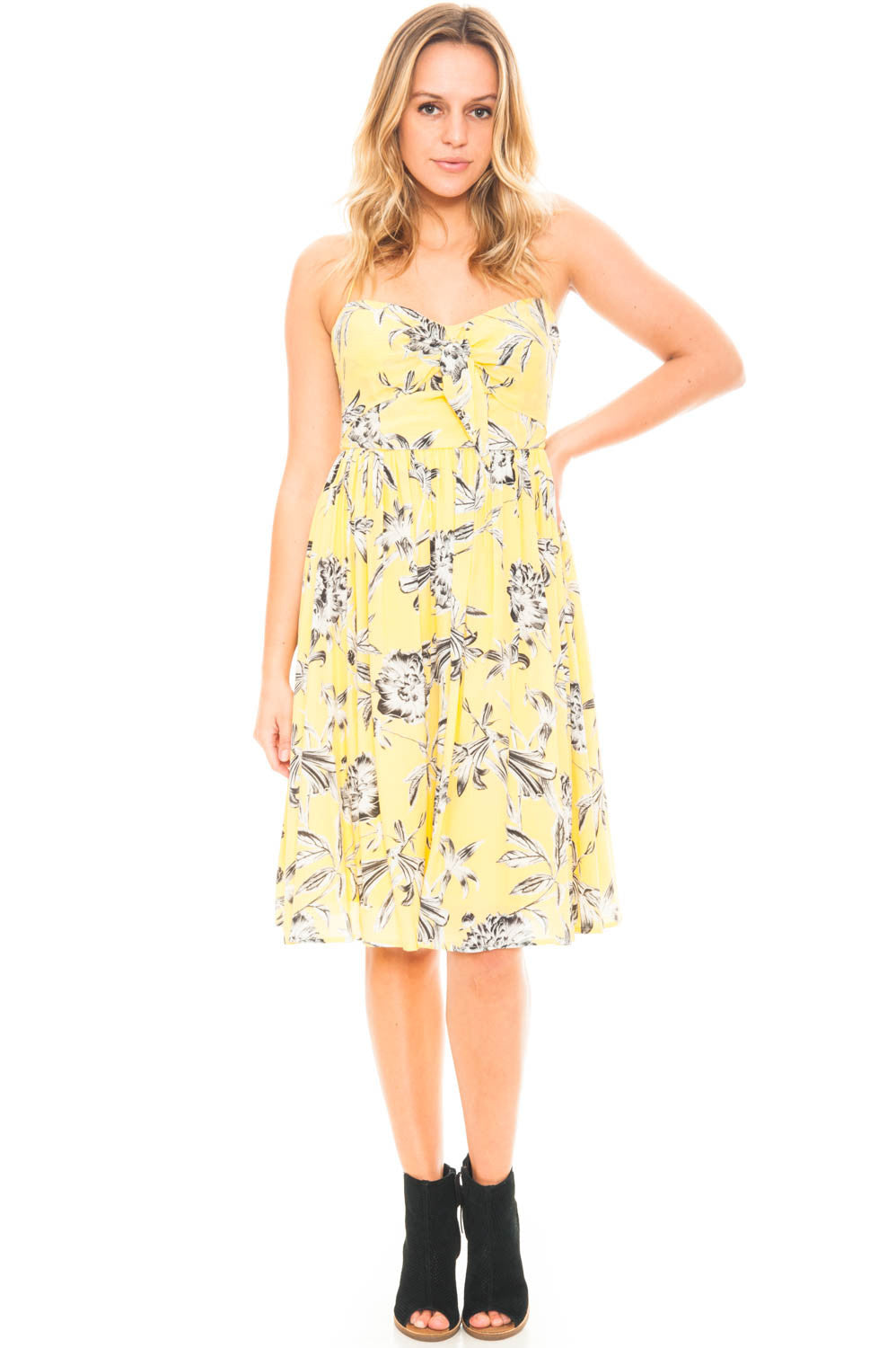Dress - Jones by BB Dakota Halter Tie Dress