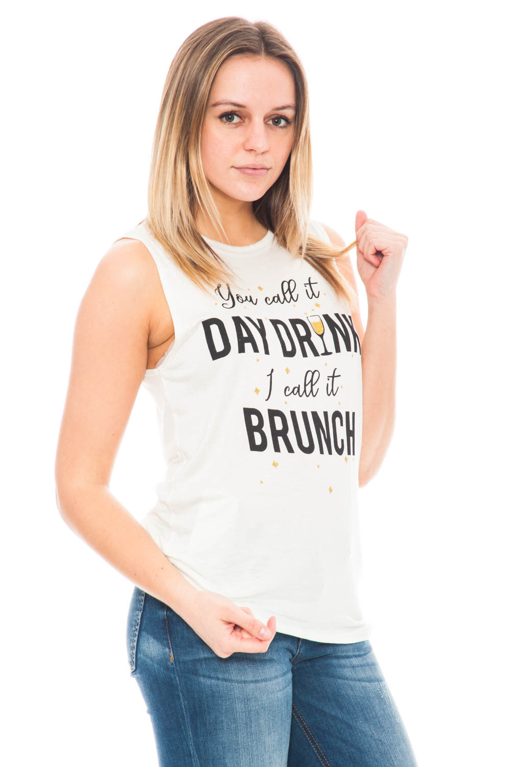 Tank - You Call It Day Drunk, I Call It Brunch Muscle Shirt