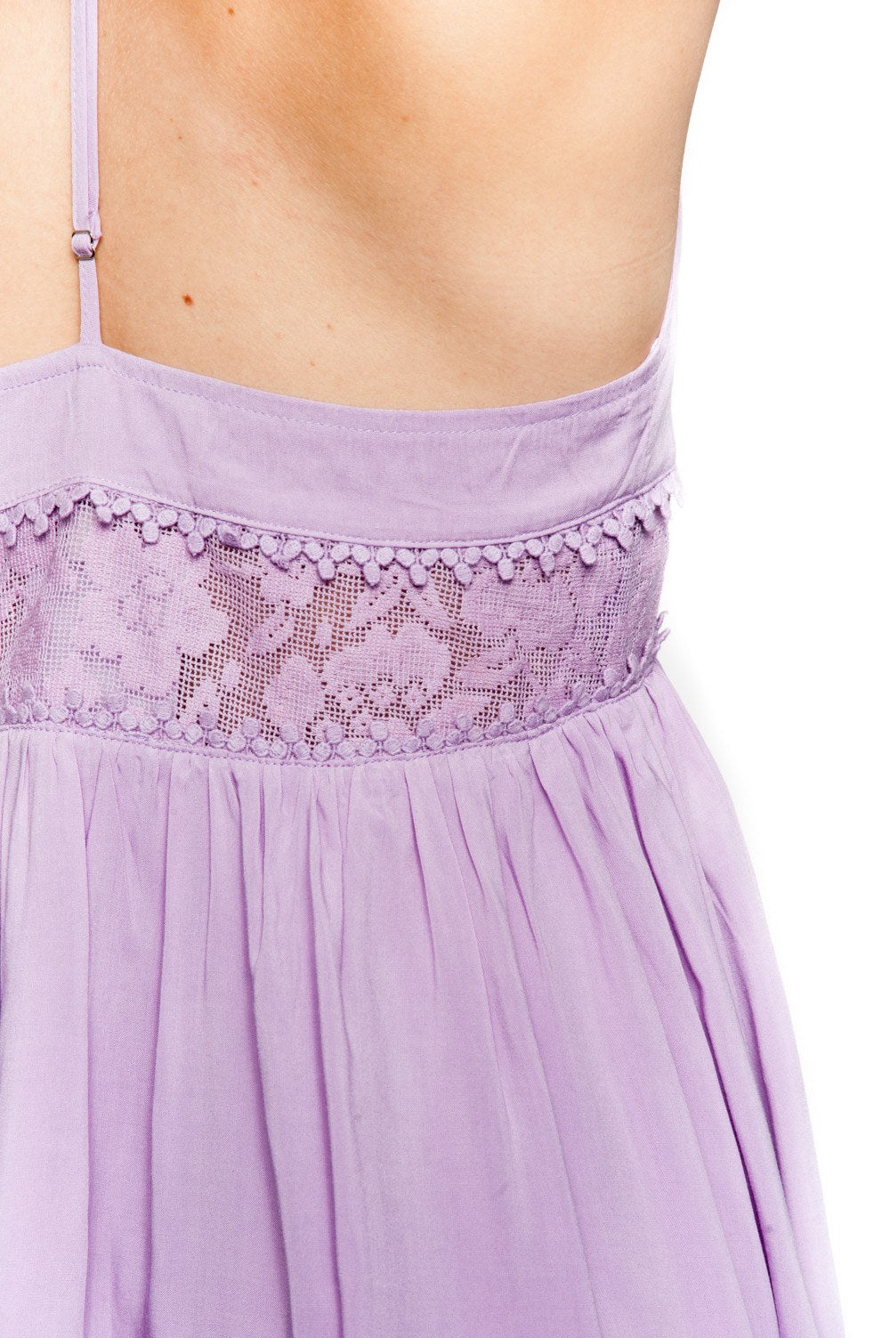 Dress - Lilac Boho Peek-a-Boo - 4