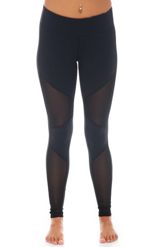 Legging - Mesh Cut-out - 1