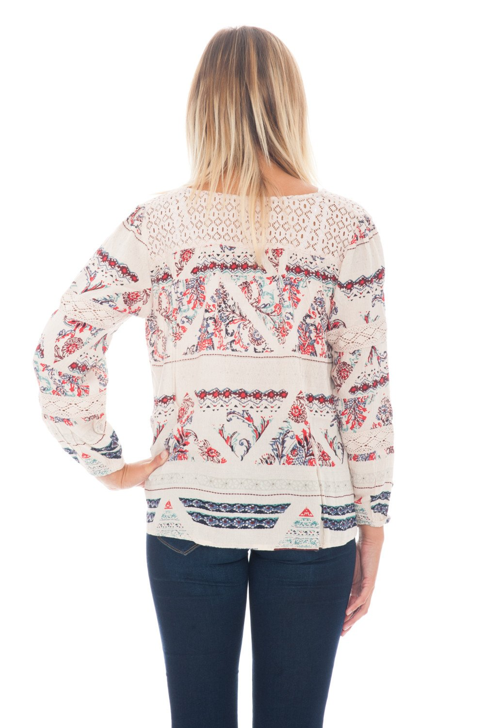 Blouse - Laced Up BOHO - 3