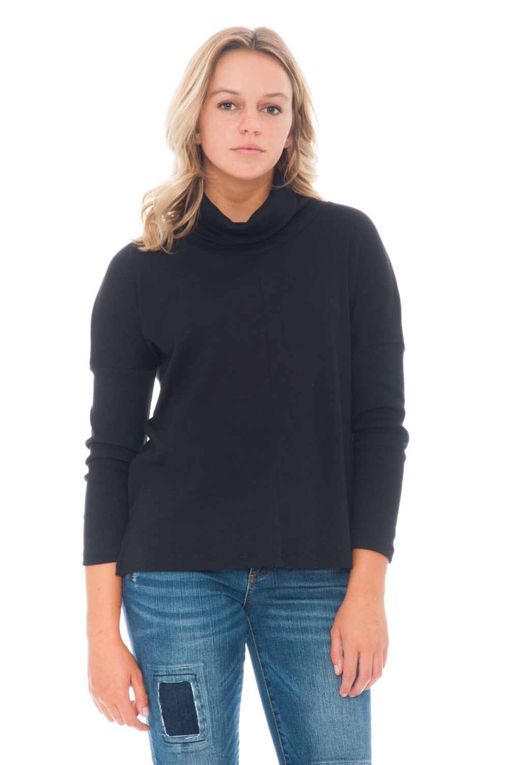 Shirt - Cowl Neck - 1