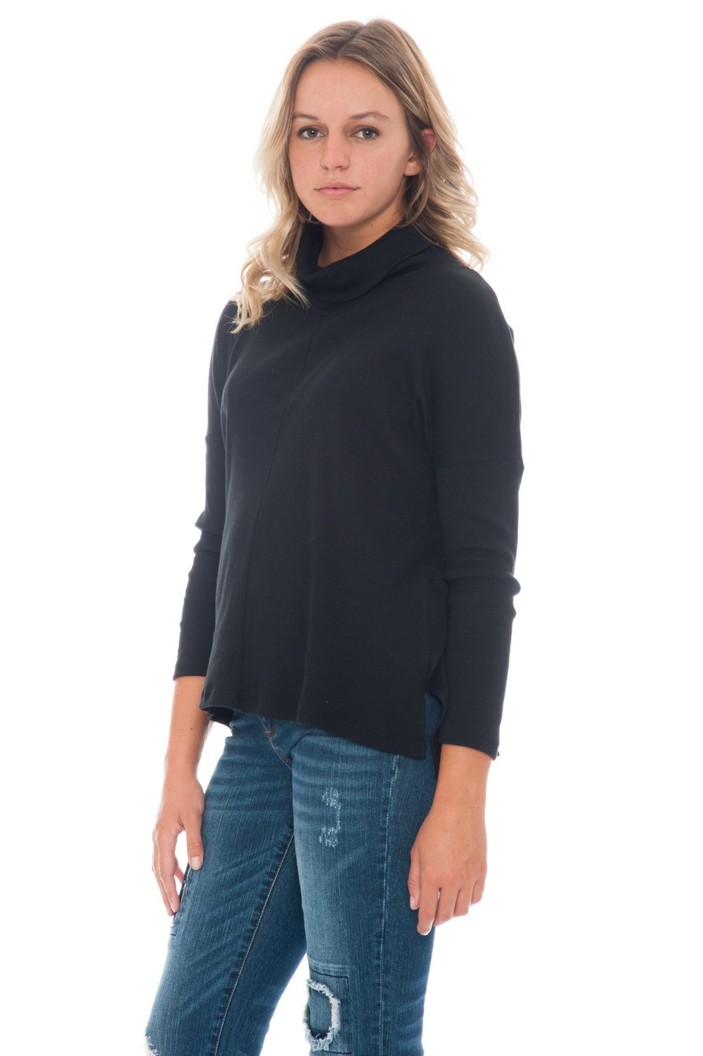 Shirt - Cowl Neck - 2