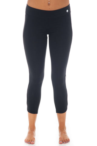 Legging - Crop Leg With Detail - 1