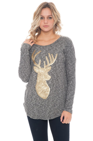 Shirt - Deer Knit - 1