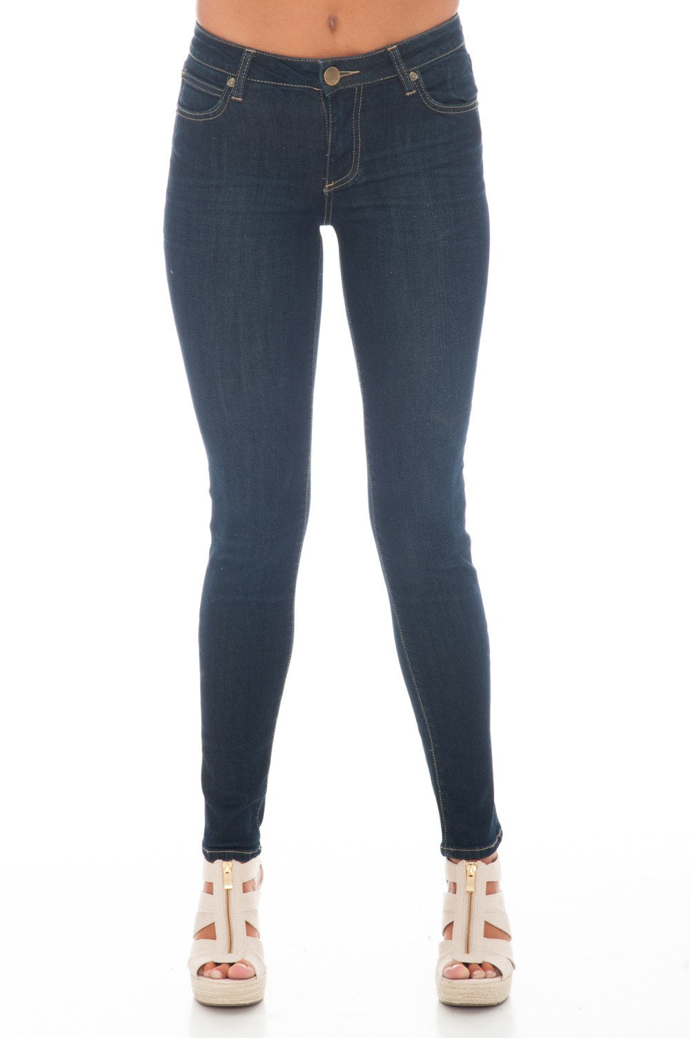 Jean - Diana Limitless Kurvy Skinny by Kut From the Kloth - 1