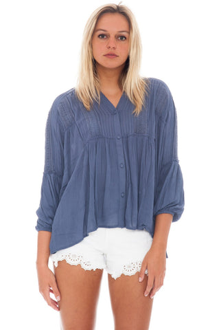 Blouse - Doll Button Up - 1