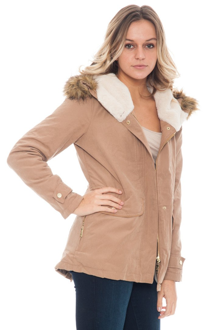 Jacket - Double Lined Fur Hood (Final Sale)