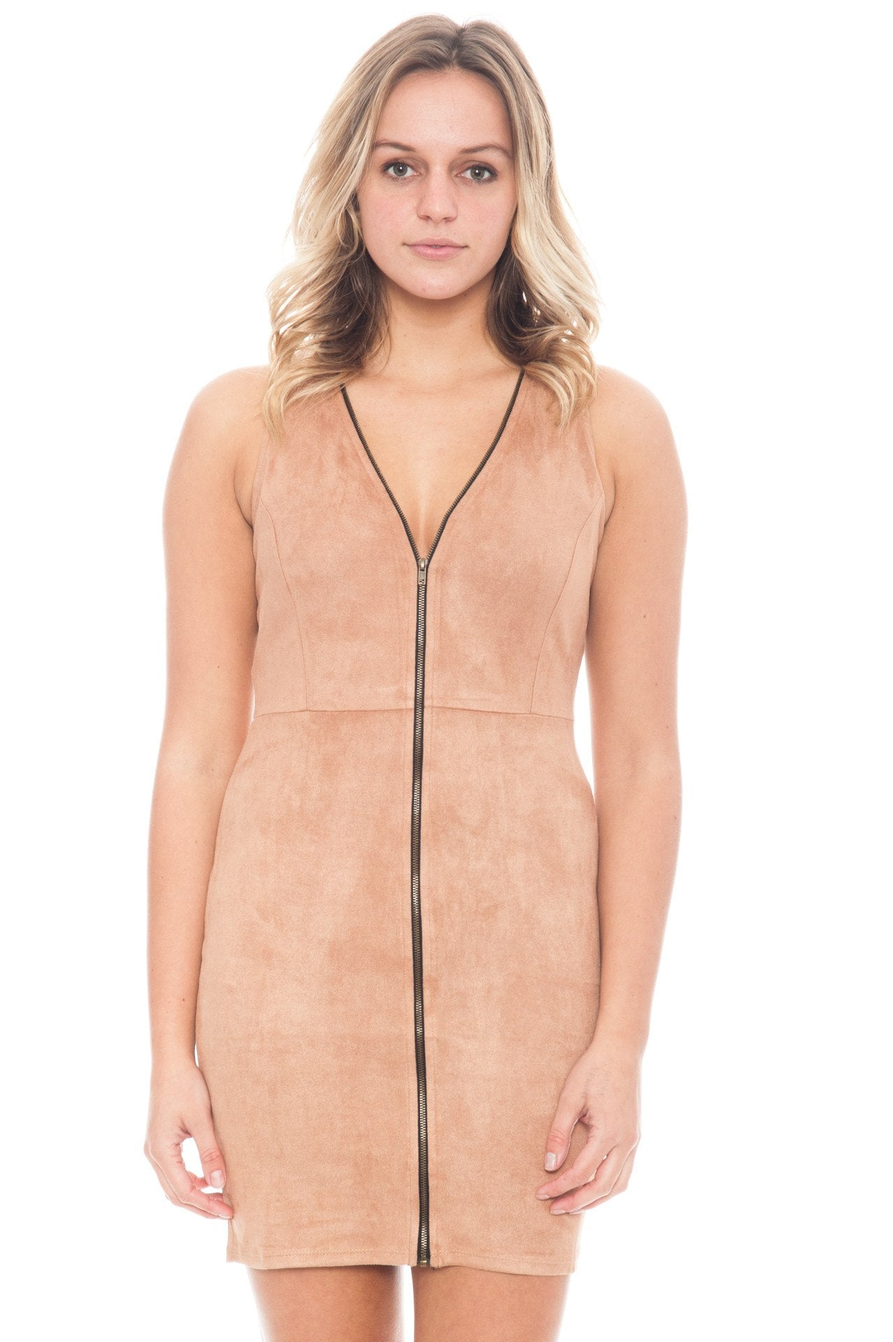 Dress - Faux Suede (Final Sale)