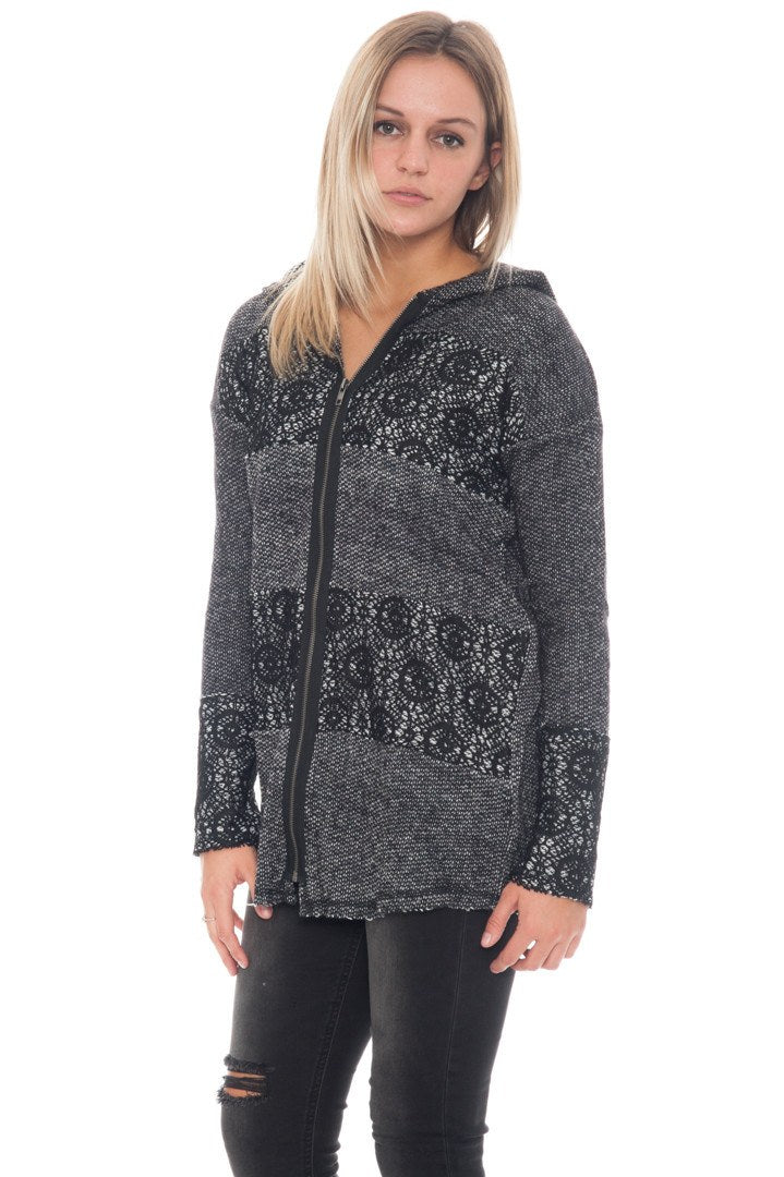 Jacket - Lace French Terry - 2