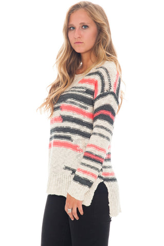 Sweater - Distracted Stripe - 2