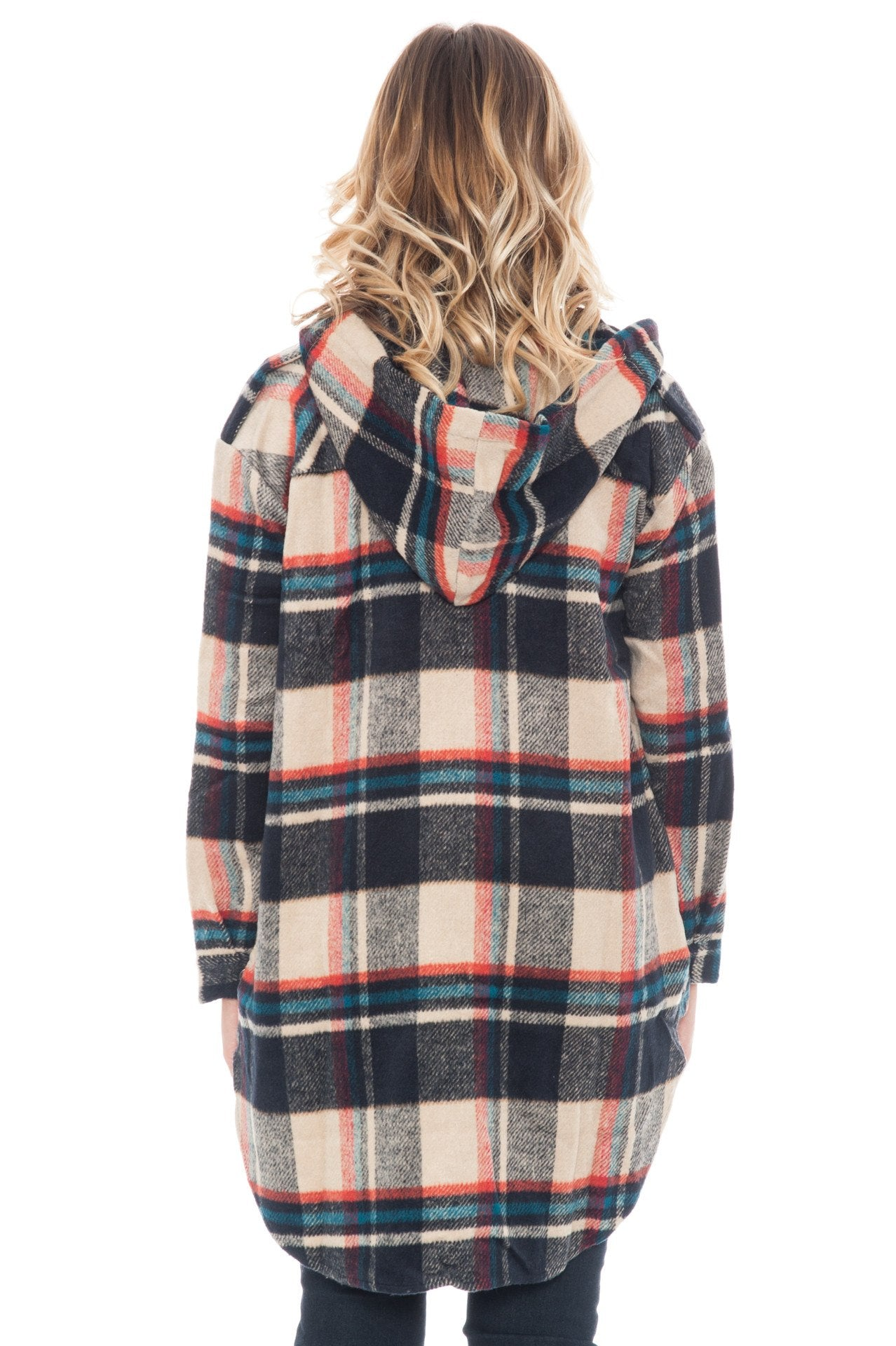 Jacket - Hooded Flannel By Paper Crane