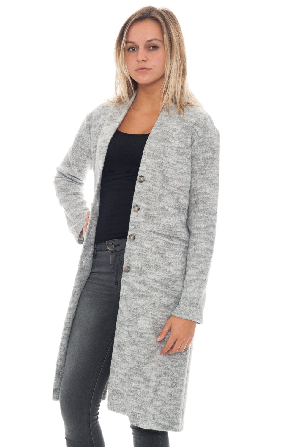 Coat - Solid LONG - 3