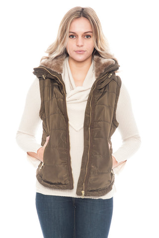 Vest - Puffy Long Neck (Final Sale)