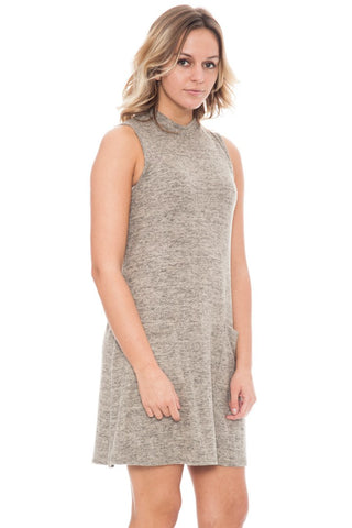 Dress - Mock Neck By Paper Crane