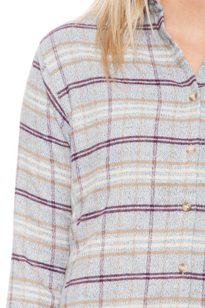Shirt - Oversized Plaid